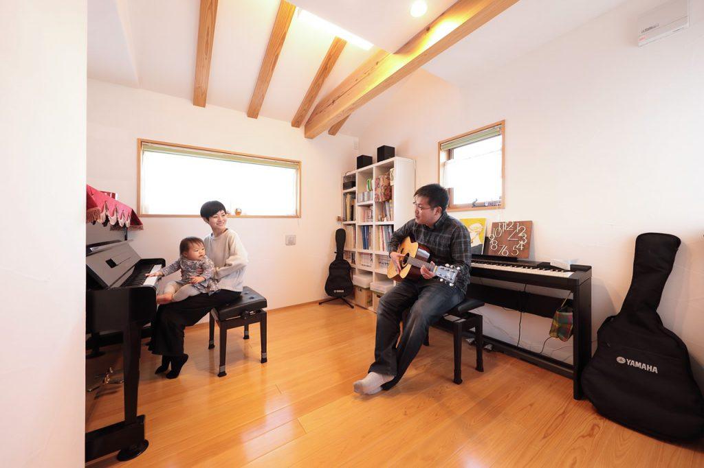 畳リビング 音楽室