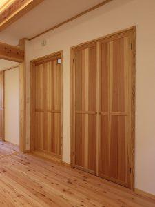 木製建具 間仕切り