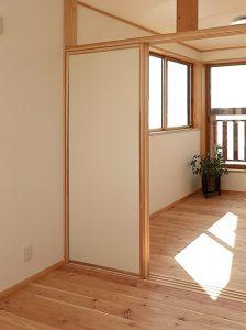 襖戸 間仕切り